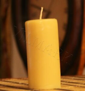 Handmade 100% Pure Beeswax Candles Cotton Wick