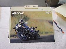 NOS Honda 1983 CB1100F  DEALER SALES BROCHURE