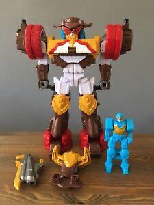 Power Rangers Ninja Steel Deluxe Bull Rider Bison King Megazord