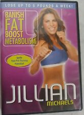 Jillian Michaels - Banish Fat Boost Metabolism (DVD, 2009)