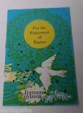 Vintage Undated Fortnum & Mason of England Easter Catalog
