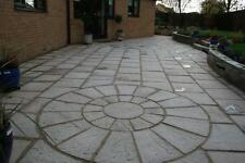 30m2 concrete garden✔patio paving ✔slabs Bundle✔Deal with Circle✔FREE✔DELIVERY✔