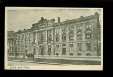 AK Lodz Bank Polski 1939