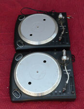 2 Numark TT1625 Direct Drive Turntables.