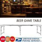 Folding Table Tennis Table Waterproof Portable Beer Camping Desk Party Accessory