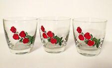 New listing Vintage 4 Roses Blended Whiskey Glasses 1950s