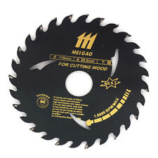 4 inch Table Saw Blades for Wood Carbide Tipped Black 30 Teeth