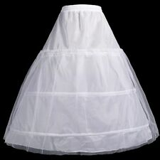 2 Layer 3 Hoop Flower Girl Petticoat Underskirt Kids Bridal Slips Crinoline