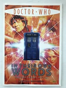 Doctor Who Magazine - In Their Own Words, Vol. 3: 1977-81 - 4th Doctor Tom Baker