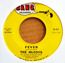 THE McCOYS - FEVER b/w SORROW - BANG 45 - MOD DANCER - RICK DERRINGER