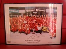 MICHAEL.SCHUMACHER PERSONAL SIGNATURE TABLEAU WORLD CHAMPION TEAM MARLBORO RARE