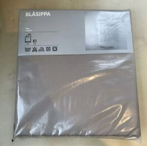 NEW UNOPENED IKEA BLASIPPA TWIN DUVET COVER SET| TAUPE COLOR
