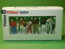 Preiser Figuren 68204 Gehende Passanten 1:50 Miniaturfiguren Modellbau Zubehör