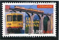TIMBRE FRANCE OBLITERE N° 3338 TRAIN JAUNE DE CERDAGNE / Photo non contractuelle