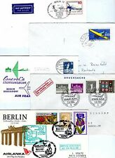 5  Flugpostbelege Berlin  ( 22804-o1 )