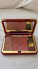 NEW ESTEE LAUDER SET OF 3 BLUSHERS TRIO IN MIRRORED COMPACT WITH BRUSH