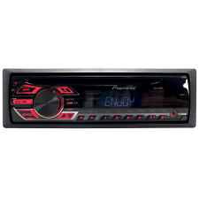 Pioneer Deh Single Din Am/Fm Radio Stereo Front Aux Cd Player Car Audio Receiver