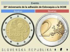 2 Euros Conmemorativos Eslovaquia 2020 *Adhesión OCDE * Sin Circular leer