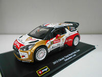 CITROEN DS3 2013 TOTAL WORLD RALLY TEAM SEBASTIEN LOEB BBURAGO 1/32