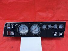 1968 68 Dodge Charger Superbee  Dash Cluster Mopar Rallye Instrument Gauge White