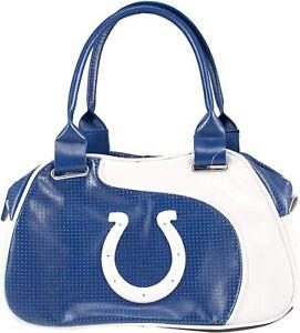 NFL Indianapolis Colts Perfect Bowler Bag Purse Hand Bag