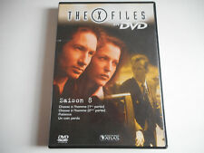 DVD - THE X FILES N° 43 SAISON 8 / 4 EPISODES 1, 2, 3, 4 - EDITIONS ATLAS
