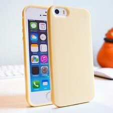 Soft Slim Skin Silicone Gel TPU Bumper Cover Case for iPhone 4S 5C SE 6 7 8 Plus