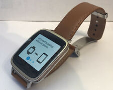 ASUS ZenWatch (WI500Q) 42mm Stainless Steel Case Brown Classic Buckle -...