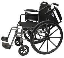 "ProBasics Invacare Flip Back Arm 20"" Lightweight Wheelchair, Swingaway Foot K3"