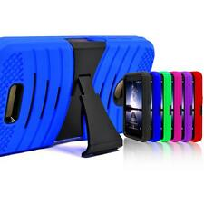 Armor Shockproof Protectoive Silicone PC Box Kickstand Case For HTC Smartphone
