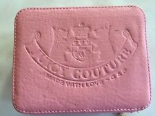 JUICY COUTURE LEATHER TRAVEL  JEWELRY BOX