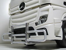 Custom Aluminum Front Bumper Guard for Tamiya RC 1/14 Semi Mercedes Benz Actros