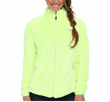 New Womens Ladies The North Face Fleece Full Zip Jacket Osito Rave Green Large