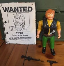 THE A-TEAM - The Bad Guys - VIPER - LOOSE AND COMPLETE  - galoob