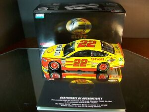 Joey Logano #22 Shell Pennzoil 2018 Ford Fusion RCCA Elite 147 Championship Year