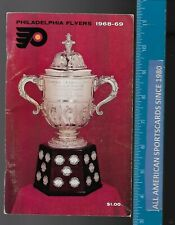 1968-69 PHILADELPHIA FLYERS 2ND YEARBOOK EXCELLENT PLUS RARE !