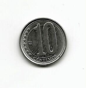 World Coins - Venezuela 10 Centimos 2007 Coin Y# 89