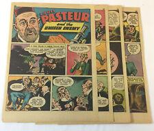 1942 six page cartoon story~ LOUIS PASTEUR