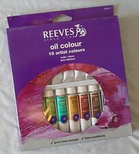 Reeves Artist Oil Color Paint Set of 18 x 12 ml Tubes
