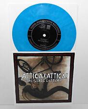 "RUINER plays OASIS / ATTICA ATTICA plays PROPAGANDHI split 7"" Record BLUE Vinyl"