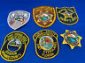 Various State Patches #23 Lot Of 6 Various Departments From United States