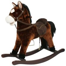 Rocking horse brown with sound
