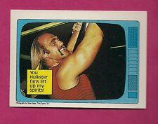 1985 TOPPS WWF # 60 HULK HOGAN NRMT-MT CARD (INV# A3932)
