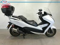 Honda NSS 300 Forza White 2017 Spare or Repair Restoration Project Damaged
