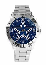 NFL Team Stainless Steel Watches (Eagles,Cowboys, Patriots, Raiders, Steelers)