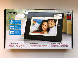 "Coby DP-702 7"" Digital Picture Frame w/ Multi Media Playback"
