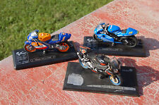 Majorette solido 1/18 lot de 3 motos collection----/A9/