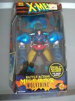 1996 Toy Biz X-Men Battle Action Mega-Armor Wolverine SEALED VGC VNTG Marvel MIB