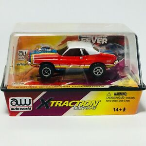 Auto World '70 Dodge Challenger, Red/Blue, XTraction, New Sealed Cube