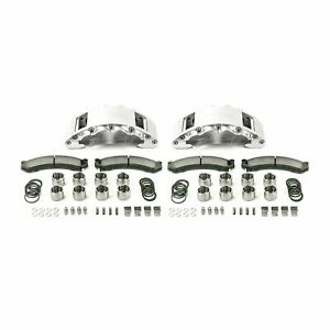 2009-18 RAM 2500/3500 SSBC Barbarian Eight Piston Rear Caliper Kit (clear)
